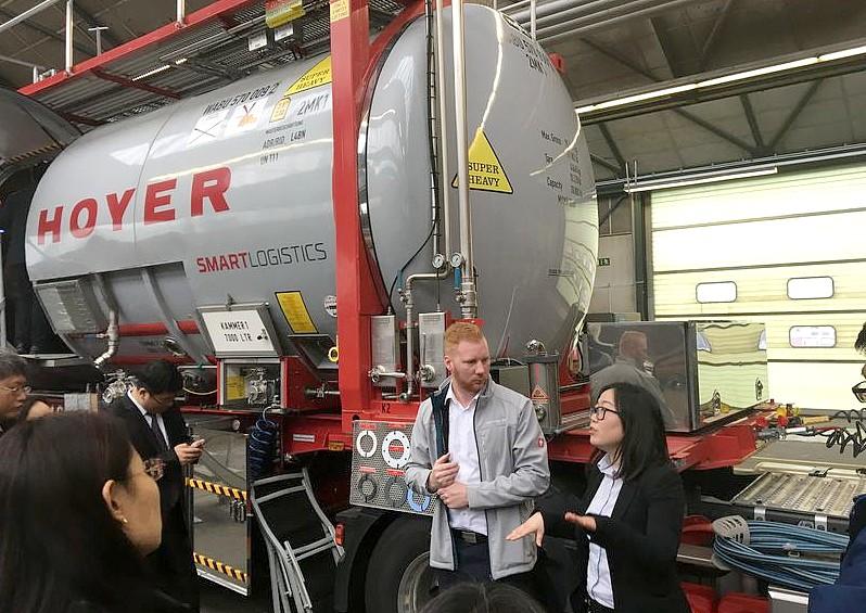 HOYER Besuch chinesische Delegation