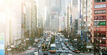 air pollution in Tokyo Japan
