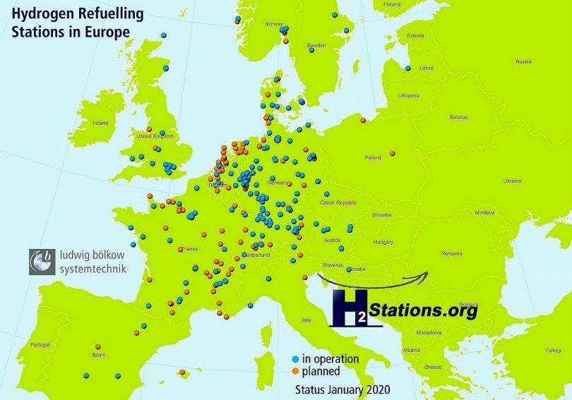 hydrogen refuelling stations