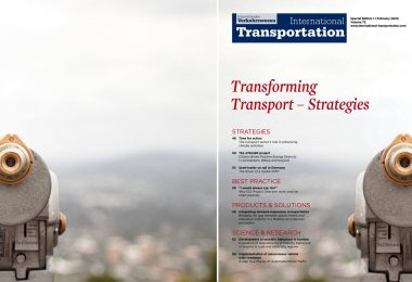 International Transportation 1 | 2020 Transforming Transport - Strategies