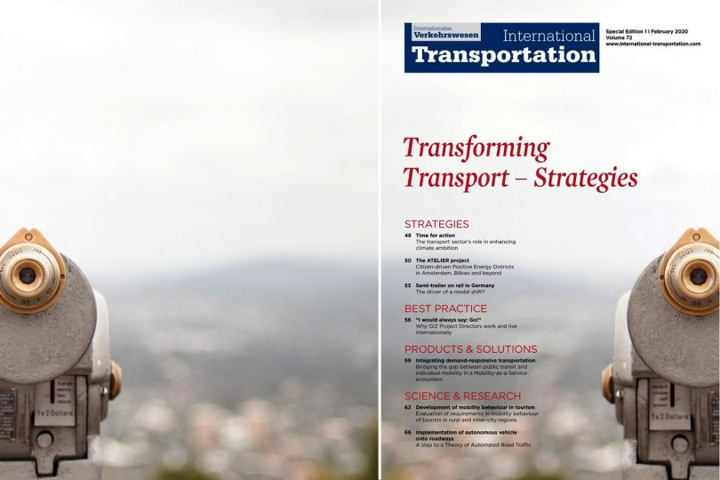 International Transportation 1 | 2020 Transforming Transport - Strategies