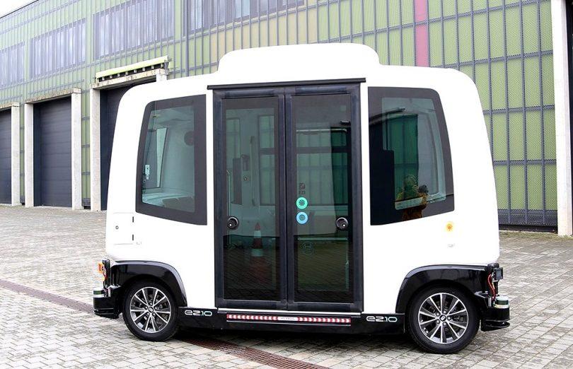 Karlsruhe-Weiherfeld: EVA-Shuttle geht vom Labor auf die Straße