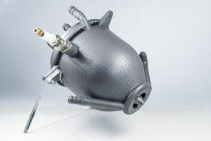 Raketentriebwerk mit Aerospike-Düse