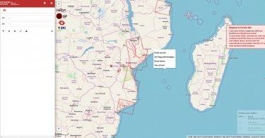 Handy-App MapSwipe
