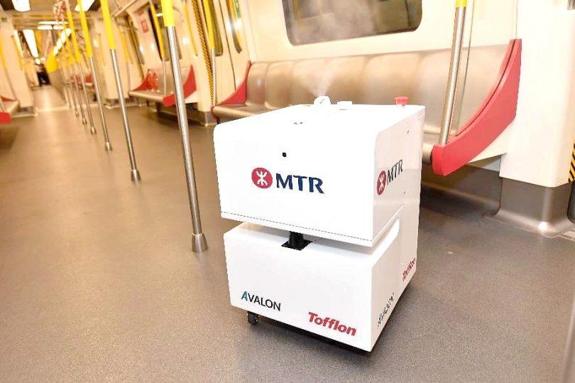 Hong Kong's MTR deploys VHP Robot for disinfection