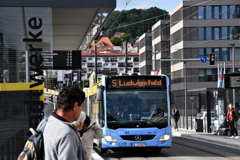 Kostenlos angebotener Öffentlicher Nahverkehr in Ulm