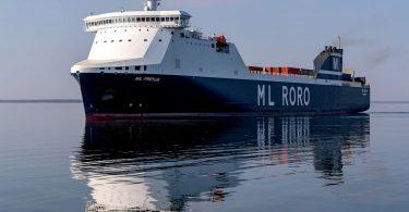 RoRo-Träger MS Freya