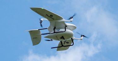 Scotland Skyports delivery drone