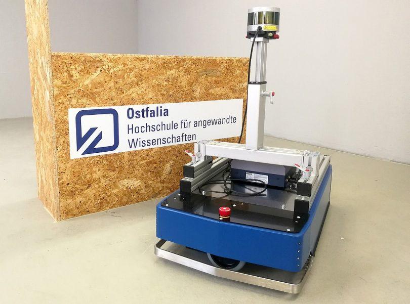 Ostfalia entwickelt selbstlernendes Transportsystem