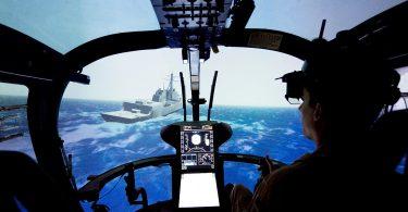 ROSIE: Augmented Reality für Hubschrauber-Landungen auf Schiffen