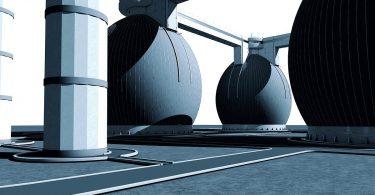 Shell plant Anlage zur Gas-Verflüssigung