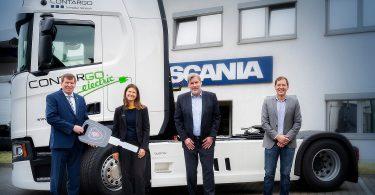 Contargo erhält Oberleitungs-LKW für Teststrecke in Hessen