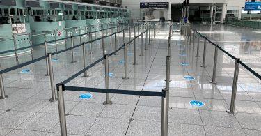 Pandemie-Konzept für Flughäfen