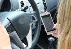 Blindflug bei Handynutzung während der Autofahrt