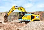 Prototype JCB 220X excavator powered by hydrogen fuel cell