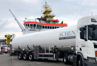 ATAIR receives Gasum's first truck-to-ship bunkering operation in Germany