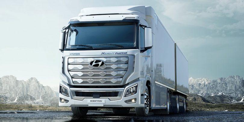 Hyundai liefert in der Schweiz erste Brennstoffzellen-LKW aus