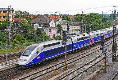 TGV-Hochgeschwindigkeitszug von Alstom.
