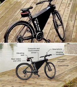 Safety-E-Bike: Intelligente Radartechnik macht Radfahren sicherer