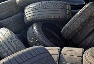 Fuel from disused tyres