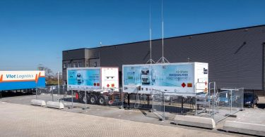 Wystrach präsentiert mobile Wasserstofftankstelle WyRefueler
