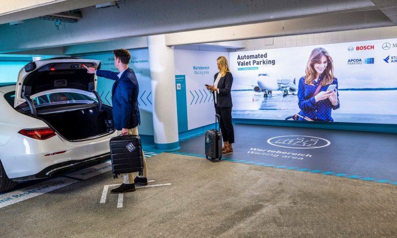 weltweit erster Serieneinsatz von Automated Valet Parking