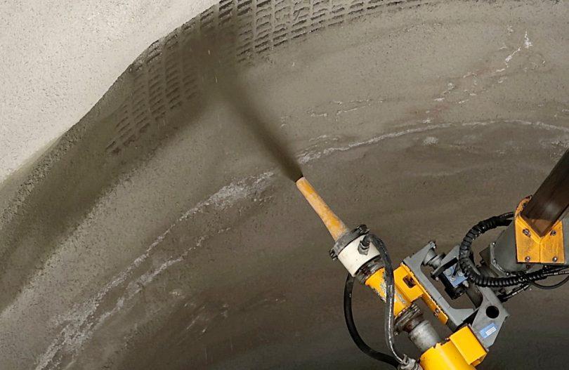 Nachhaltigere Spritzbeton-Rezepturen für längere Nutzungsdauer von Tunnel