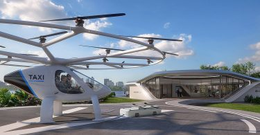 Akzeptanzstudie FlyingCab: Wenn Taxis den Luftraum erobern
