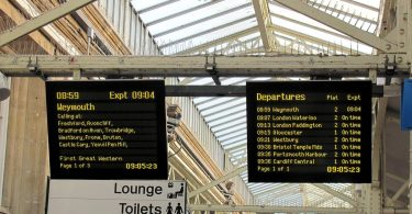 University of Illinois predicting British railway delays