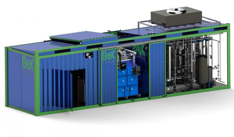 Dampfreformierung BtX energy GmbH