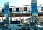 Pay-as-you-go-Mautsystem auf der A8 Athen-Patras