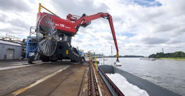 Salz-Transportflotte mit Wasserstoffantrieb geplant