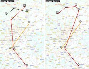 integrierte automatische Tourenplanung: LIS erweitert TMS WinSped