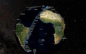 Südatlantischen Anomalie: Strahlenforschende fliegen nonstop zu den Falkland-Inseln