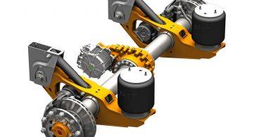 die neue E-Achse SAF TRAKr von SAF-HOLLAND