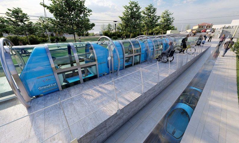 Urbanloop-Projekt soll urbane Mobilität in Nancy revolutionieren