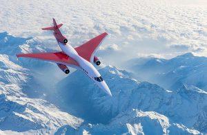 Überschall-Flugzeug : Business-Jet von Aerion Supersonic
