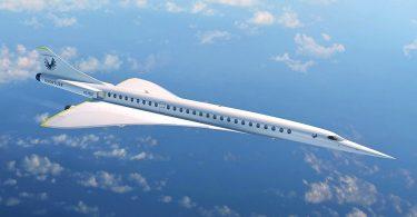 Überschall-Flugzeug Overture von Boom Supersonic