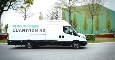 Plug-in-Hybrid Kastenwagen von Quantron