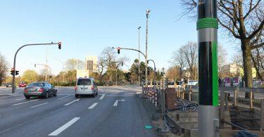 TAVF Teststrecke: Moderne Sensorik schützt gefährdete Verkehrsteilnehmer
