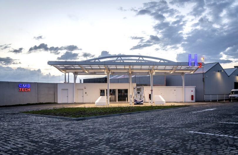 Hydrogen Refuelling Station. © CMB.Tech