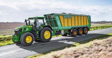 Multifuel-Traktor spart mit Biokraftstoffen Treibhausgas