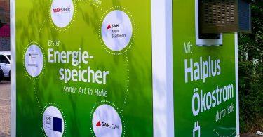 eSpeicher am Standort Halle (Saale)