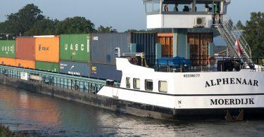 emissionsfreies Binnenschiff für ZESpacks