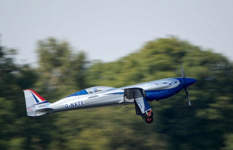 Spirit of Innovation: E-Flugzeug von Rolls-Royce hebt ab