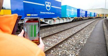 """Zukunfts-Projekt """"Intelligenter Güterzug"""""""